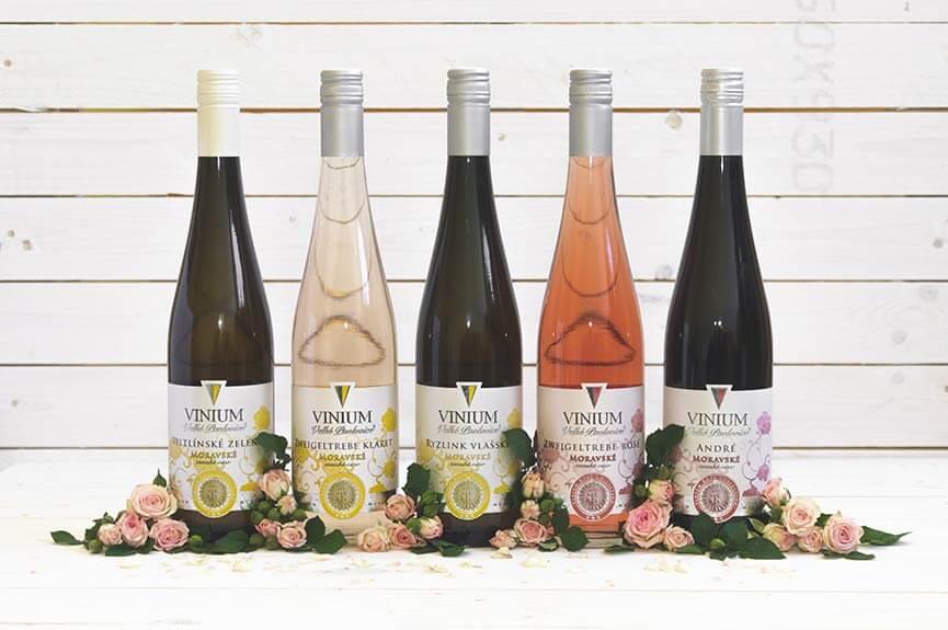 Výber vín, zemské víno, Rose Collection – VINIUM Velké Pavlovice