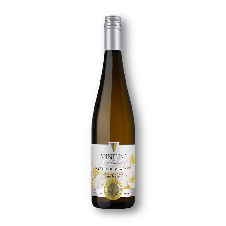 Ryzlink vlašský, moravské zemské víno, Rose Collection, VINIUM Velké Pavlovice
