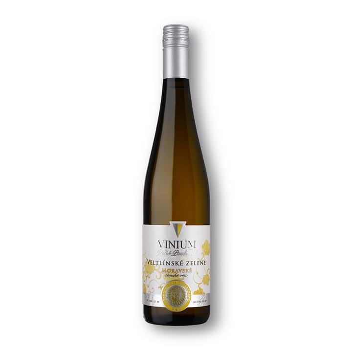 Veltlínské zelené, moravské zemské víno, Rose Collection, VINIUM Velké Pavlovice