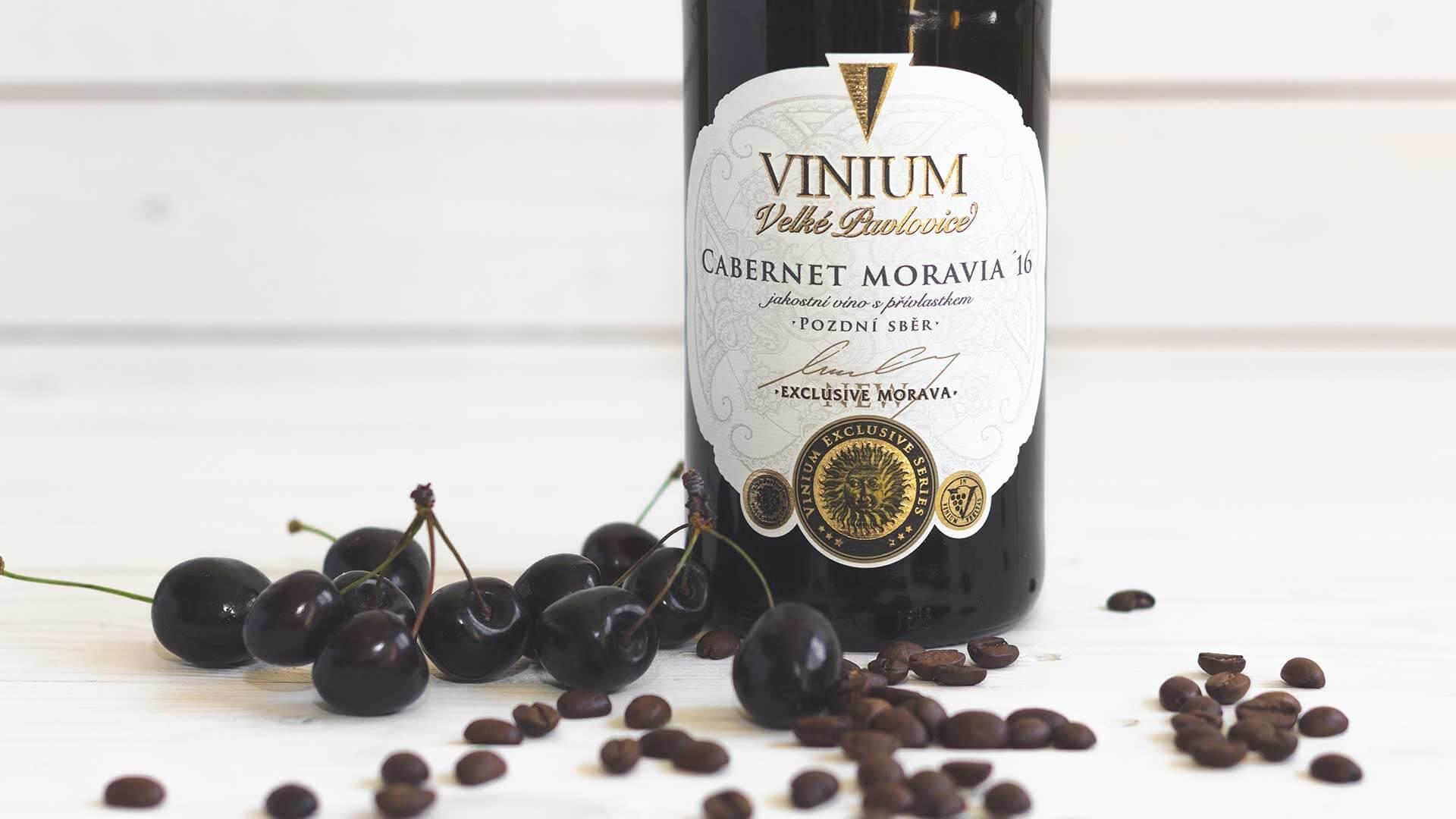 Cabernet Moravia 2016, pozdní sběr, VINIUM Exclusive