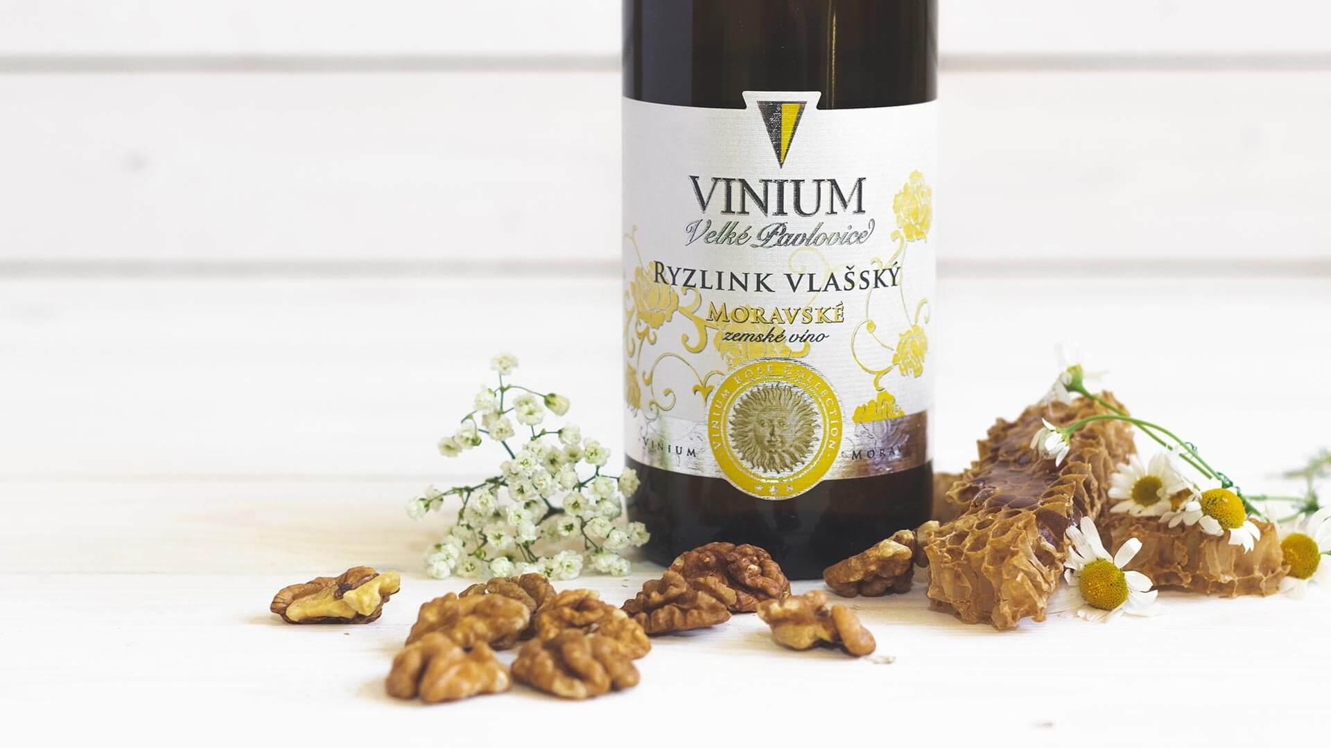Ryzlink vlašský, zemské víno, Rose Collection – VINIUM Velké Pavlovice