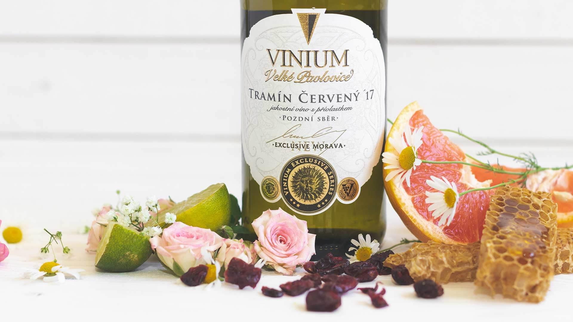 Tramín červený 2017, pozdní sběr, VINIUM Exclusive