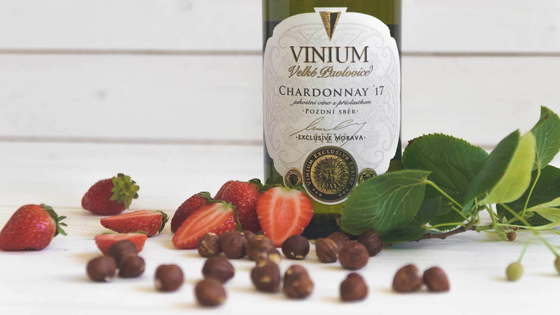 Chardonnay 2017, pozdní sběr, VINIUM Exclusive