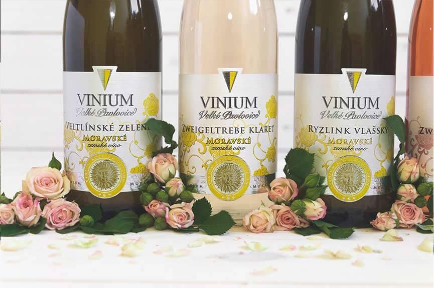 bílé víno, zemské víno, Rose Collection – VINIUM Velké Pavlovice