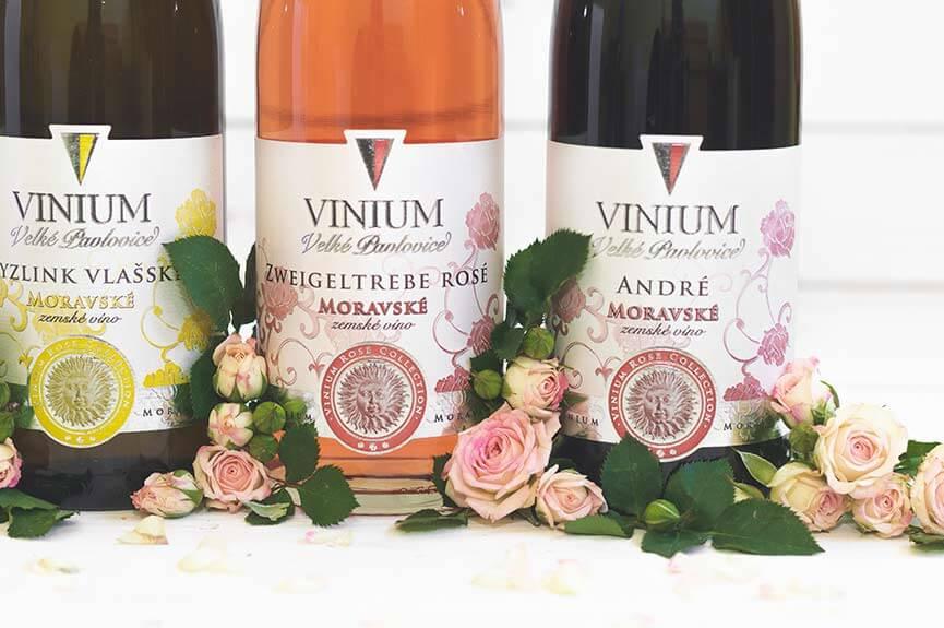 Růžové a červené, zemské víno, Rose Collection – VINIUM Velké Pavlovice