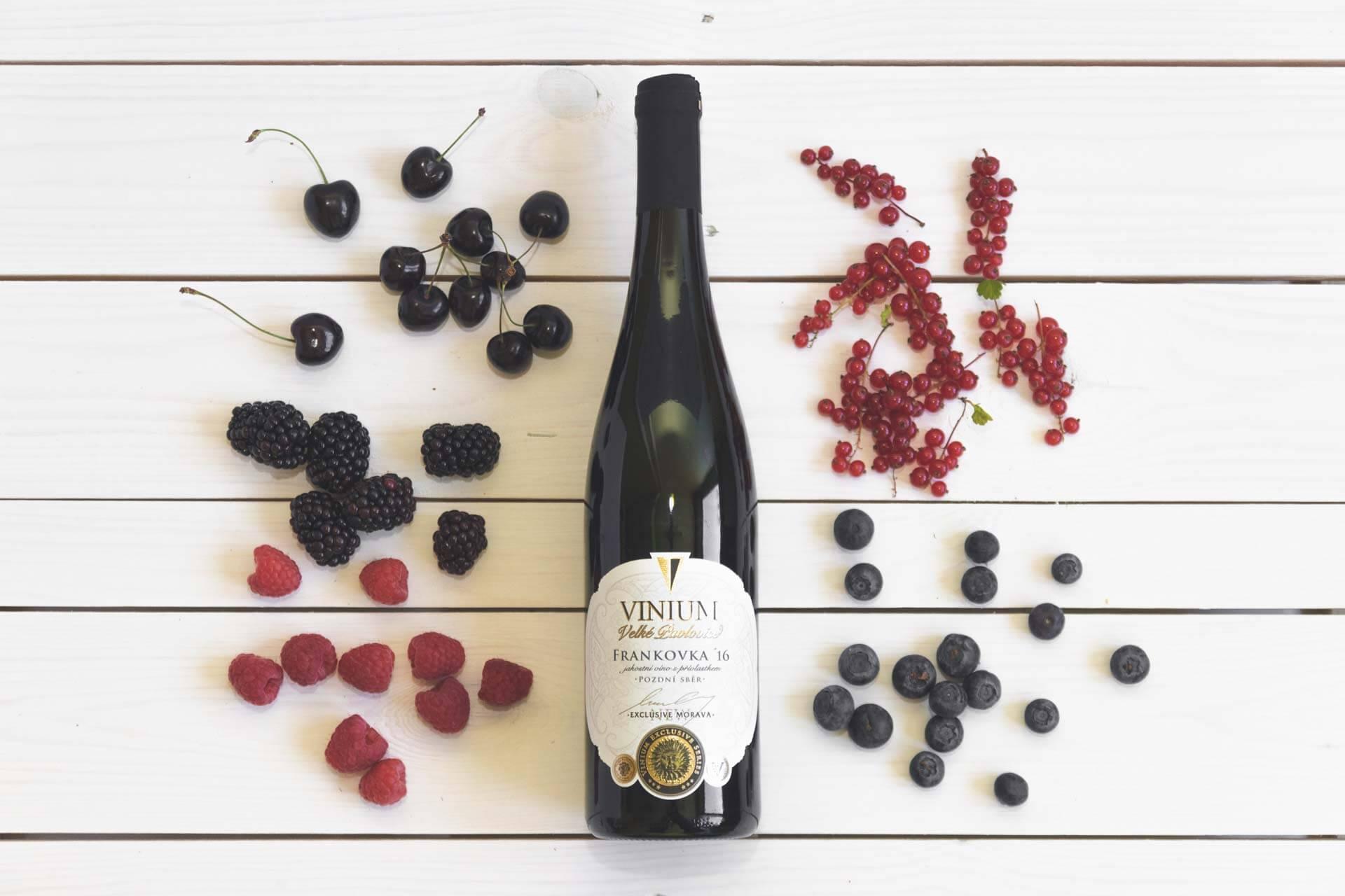 Fotka k článku 1, červené víno, Frankovka, moravské víno, VINIUM