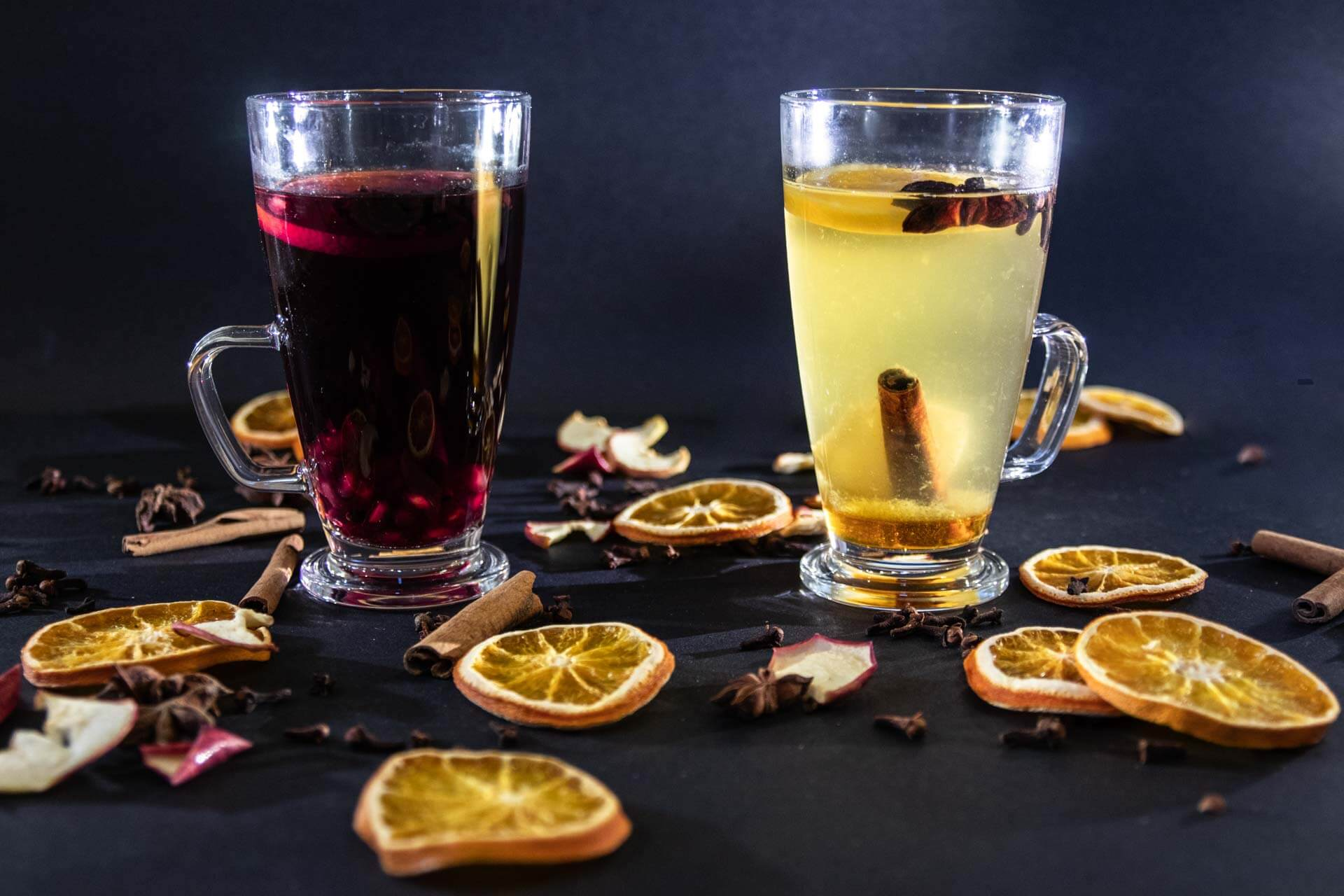Svařák z červeného a bílého vína podle receptu VINIUM