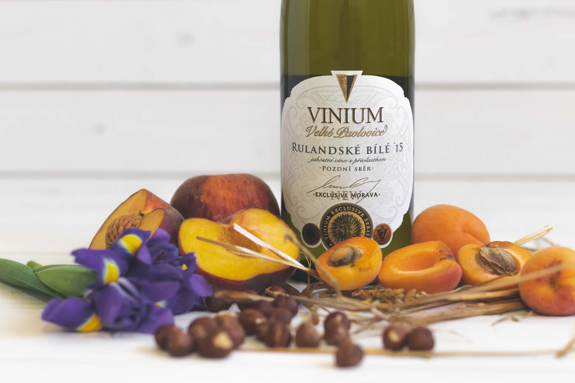 Rulandské bílé, bílé víno, přívlastkové víno, VINIUM