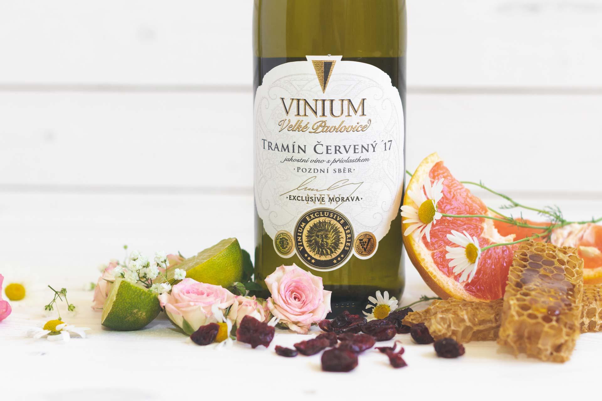 Tramín červený, bílé víno, přívlastkové víno, VINIUM