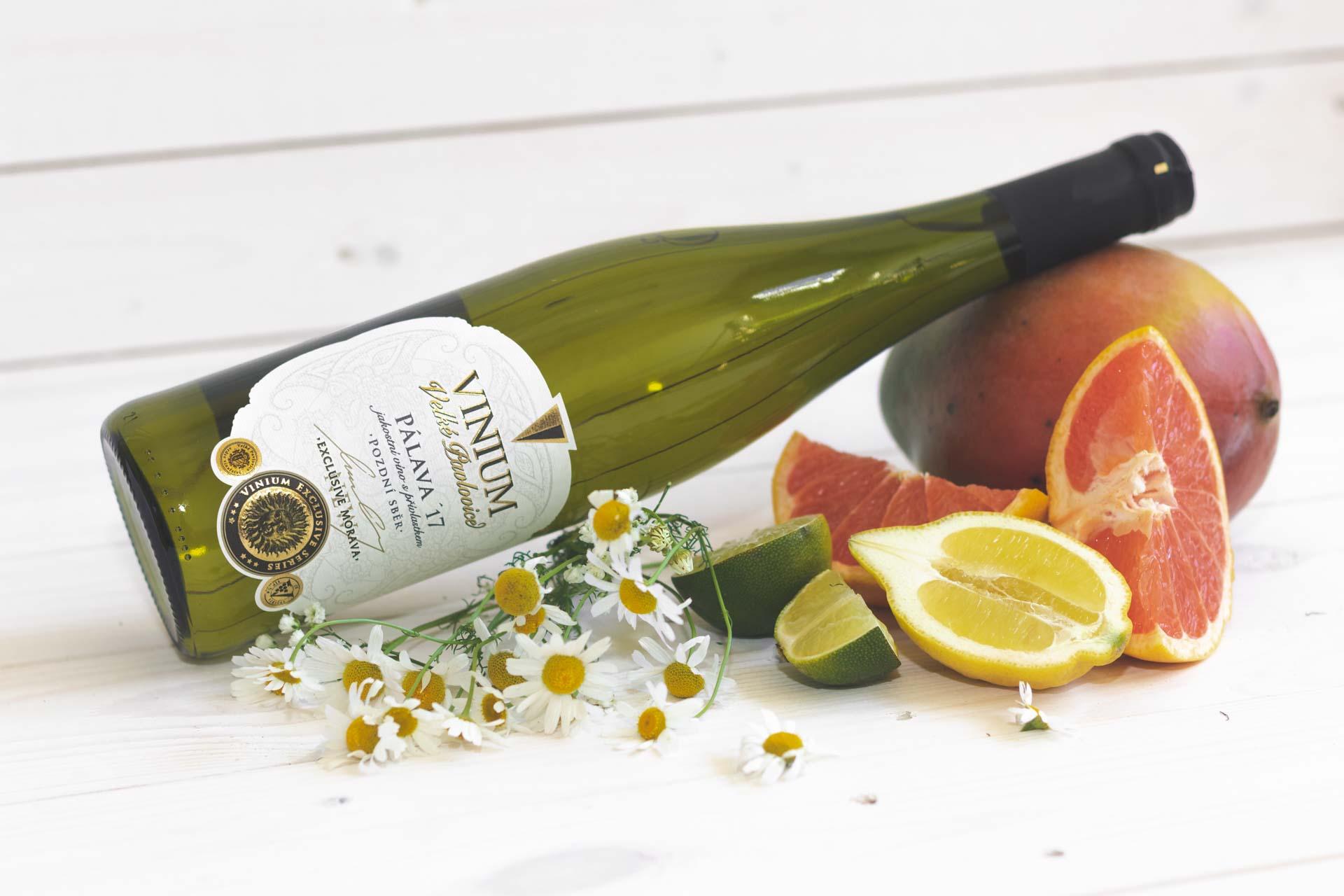 Pálava, bílé víno, přívlastkové víno, VINIUM