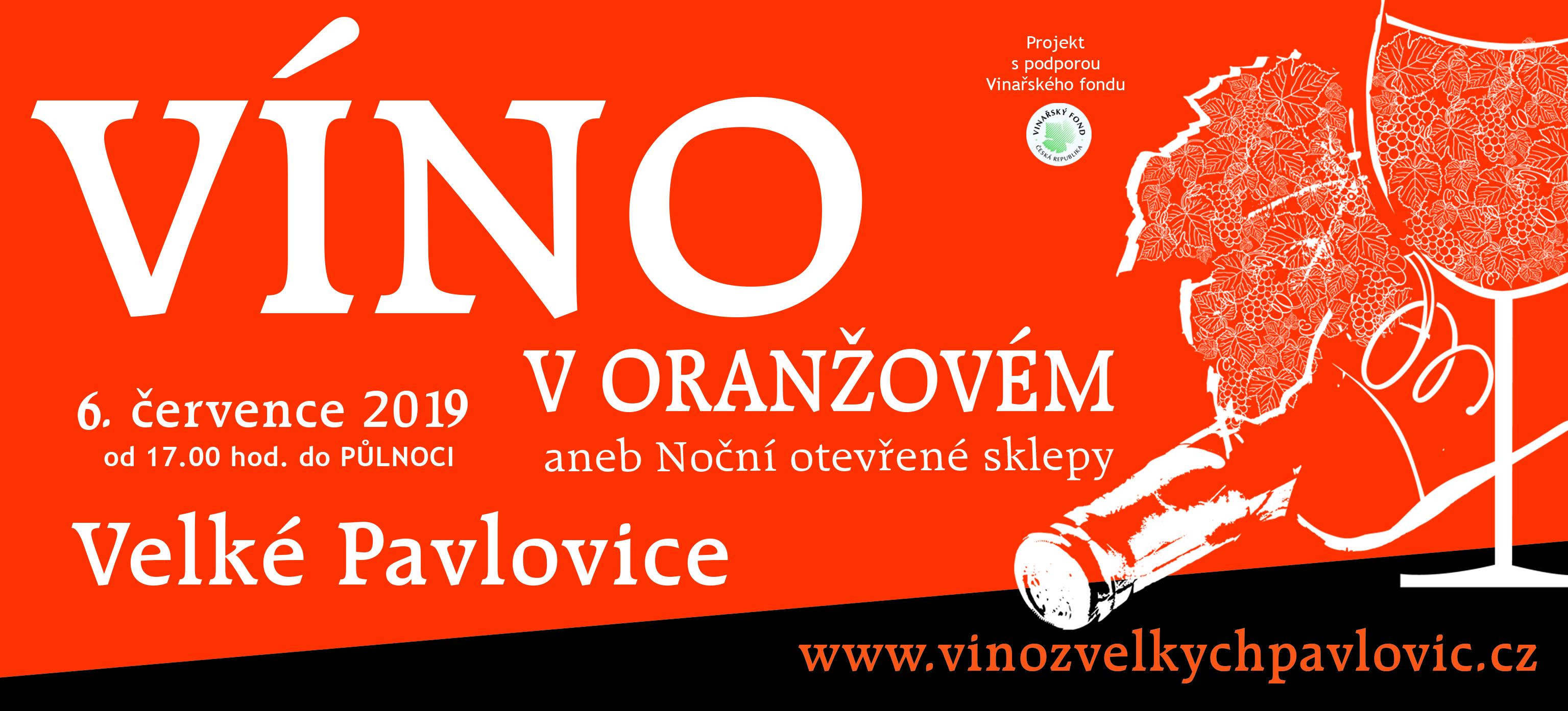 Otevřené sklepy, Velké Pavlovice, Otevřené sklepy Velké Pavlovice, VINIUM, víno v oranžovém