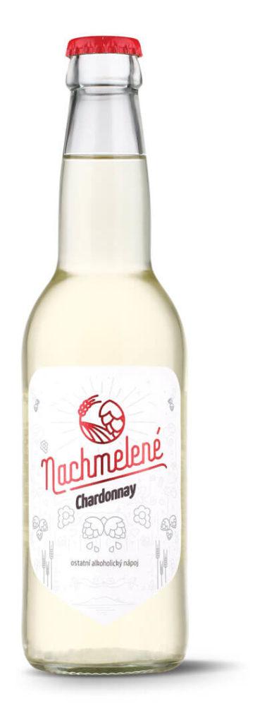 Nachmelené Chardonnay lahev