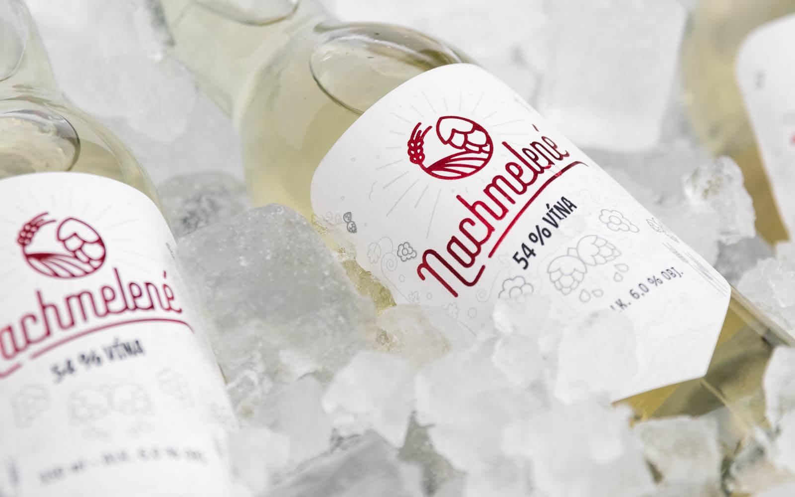 obrázek lahve Nachmelené na ledu