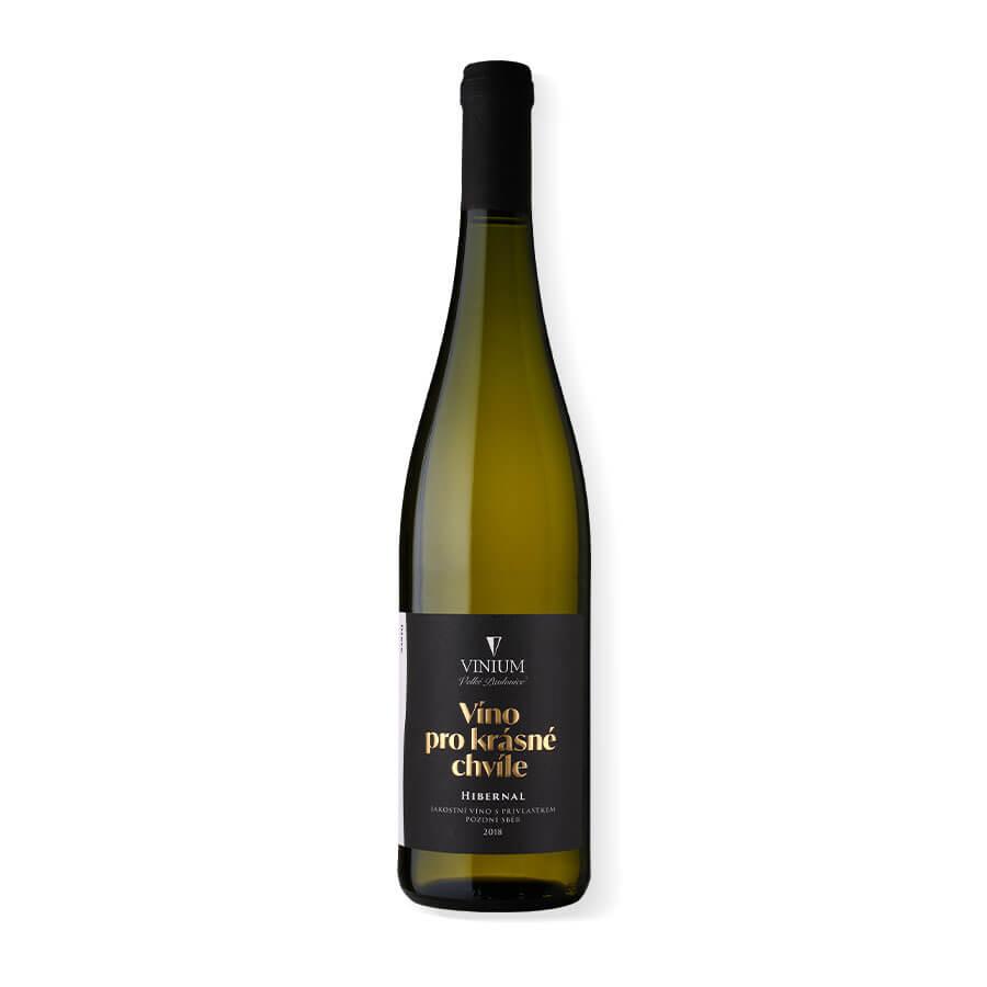 Víno, Hibernal, pozdní sběr, VINIUM, víno pro krásné chvíle