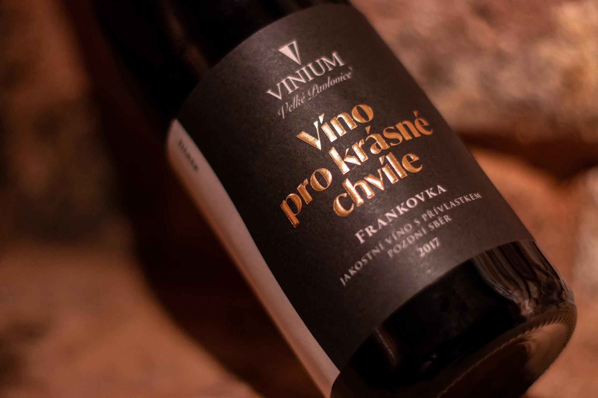 Foto 1, víno pro krásné chvíle 1, frankovka, červené víno