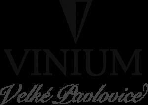 Vinium Velké Pavlovice logo černá