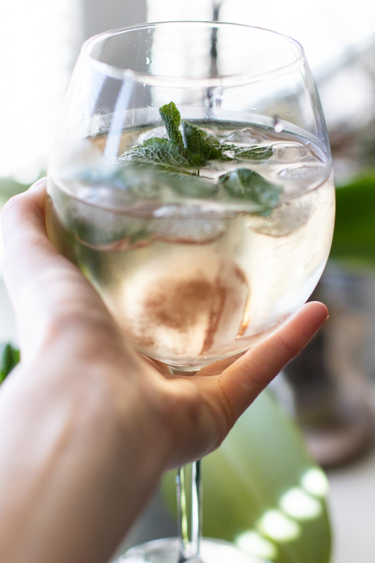 Letní drinky, Frizzante, máta, léto, osvěžení, VINIUM, foto ke článku