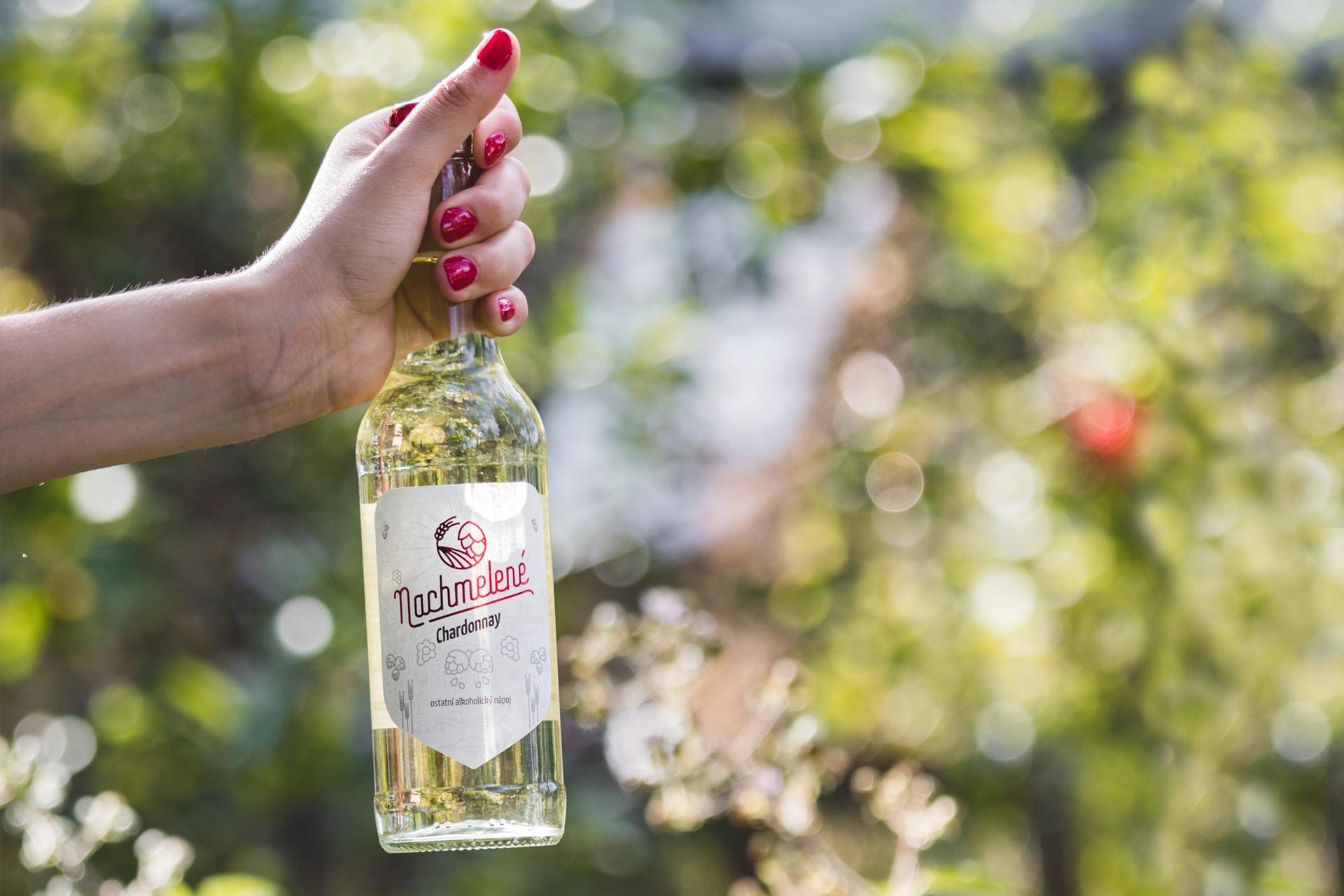 Nachmelené Chardonnay, letní drink, osvěžující drink, VINIUM Velké Pavlovice