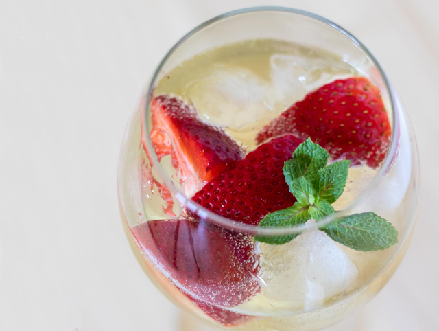 Nachmelené drinky, letní drinky, Nachmelené Chardonnay