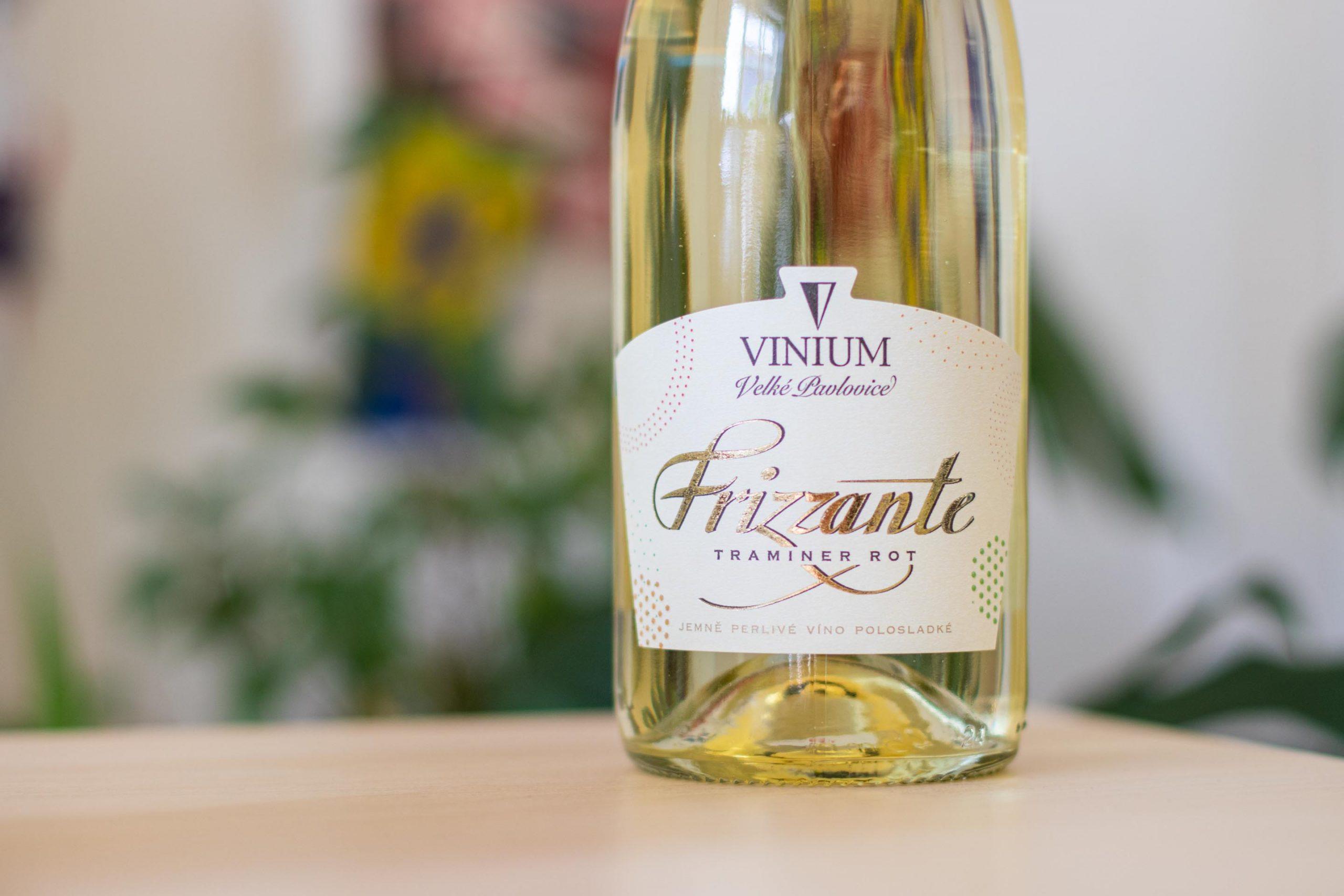 Frizzante, Tramín červený, VINIUM