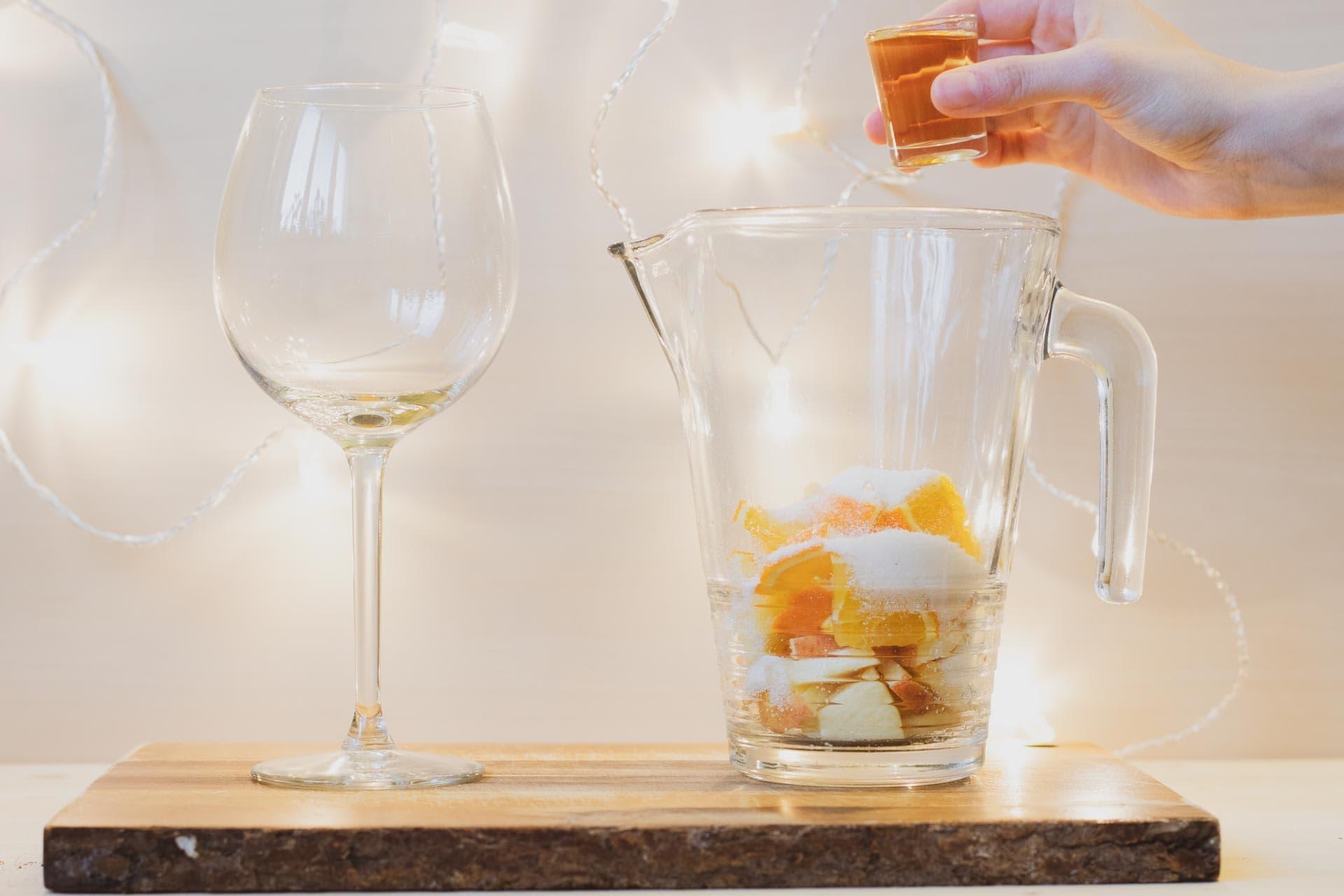 Sangria, sangria recept, vánoční drink, vánoce, advent, víno, VINIUM