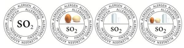 piktogramy, alergeny ve víně, označení vína