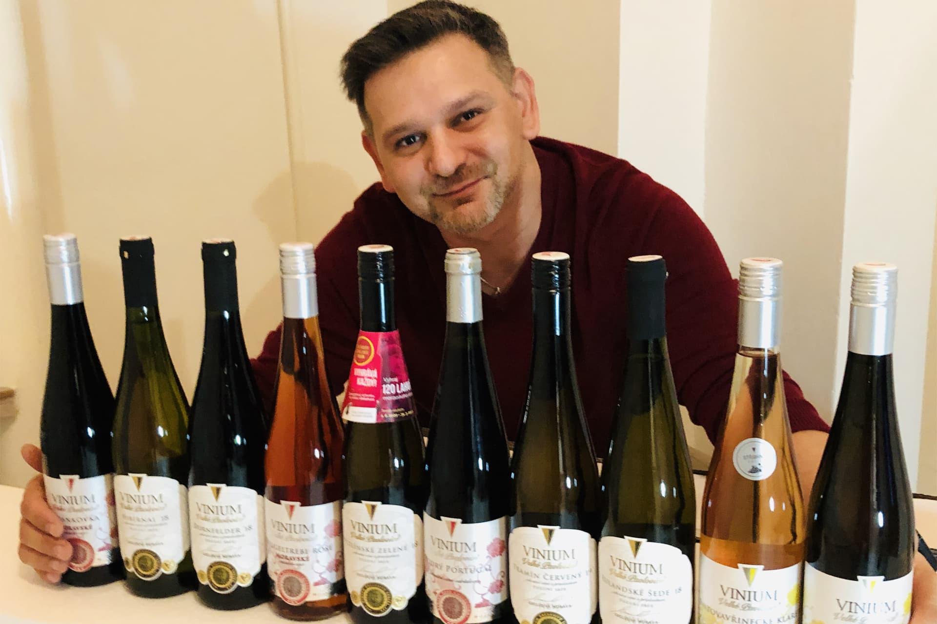 soutěž vinium, výherce soutěže, 120 lahví vína, moravské víno